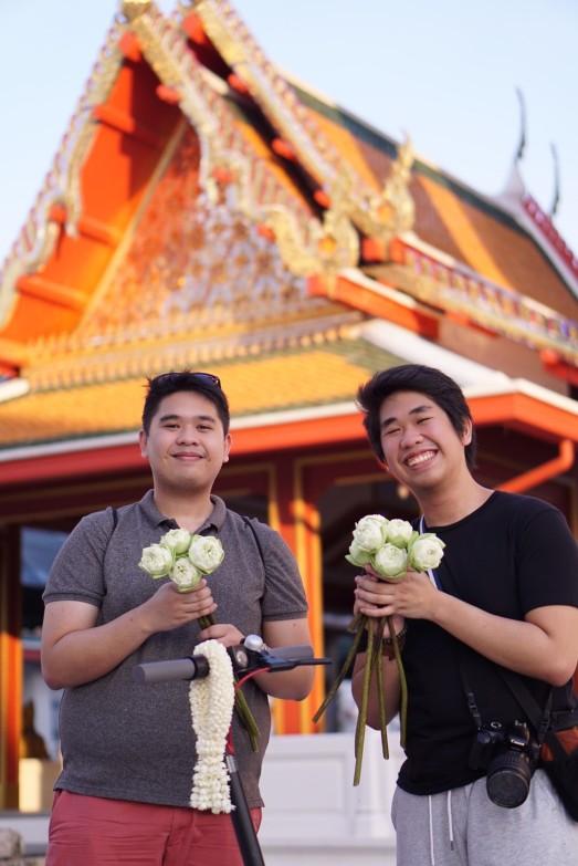 Bangkok scooter tour