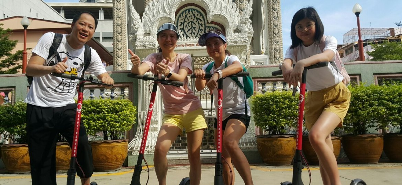 Bangkok e scooter tour